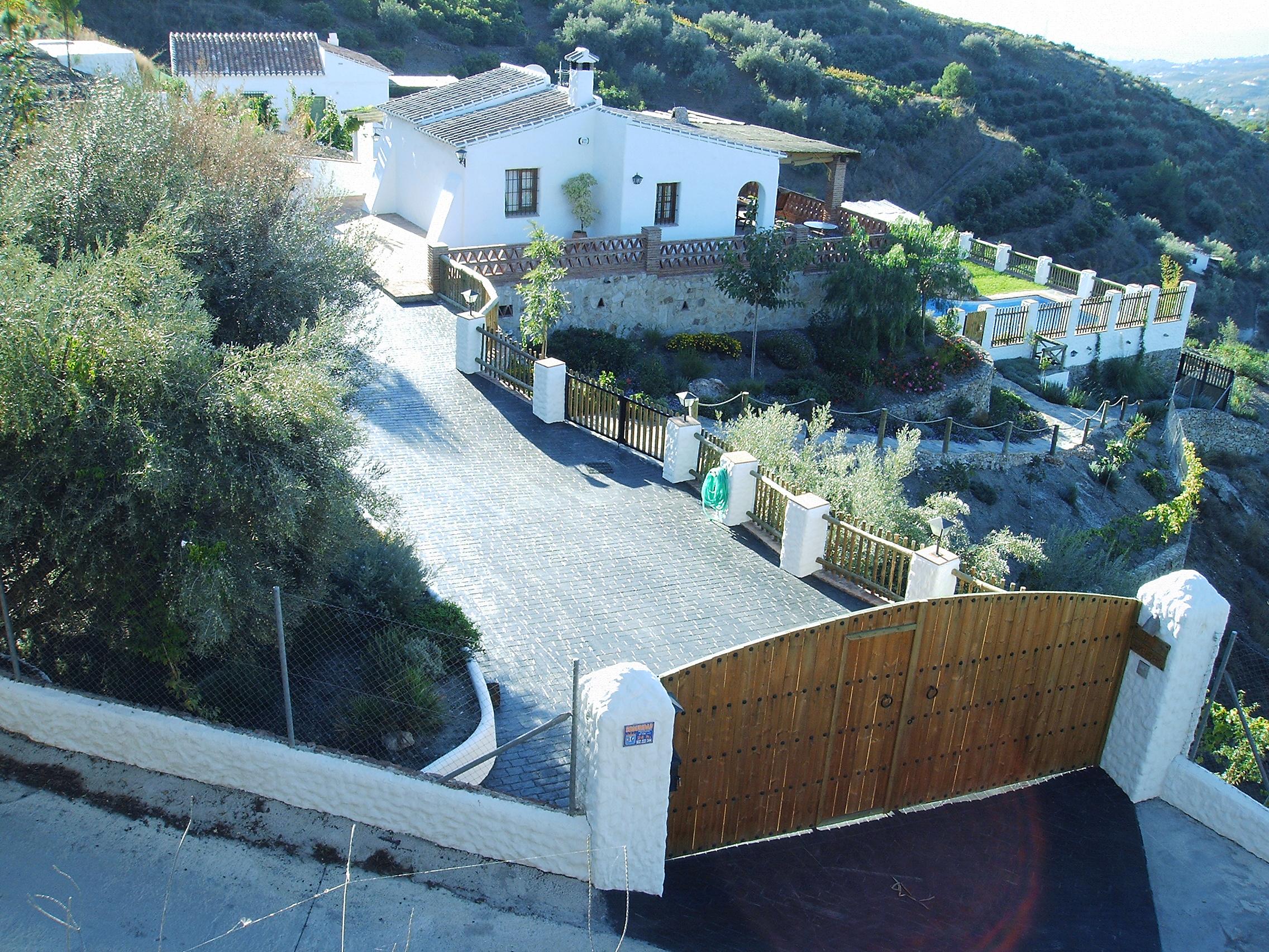 Villa With Private Pool To In Campo De Frigiliana Ref